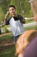 Comment lancer une balle courbe Gaucher