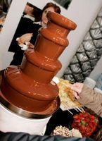 Quel genre de choses dois-je mettre avec une fontaine de chocolat?