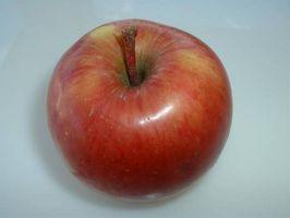 Comment faire aliments pour bébés aux pommes