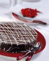 Substituts de chocolat mi-sucré dans Ganache