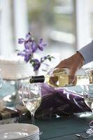 Différents types de vin blanc