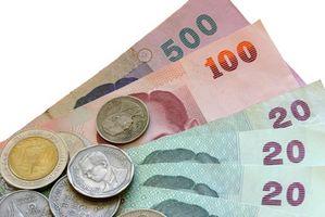 Comment faire pour convertir l'argent de la Thaïlande