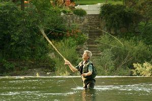 Comment Jetez un Rod de pêche à la mouche